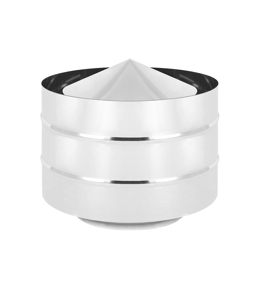 Дефлектор нерж. (AISI 430/0,5мм) д.115х180