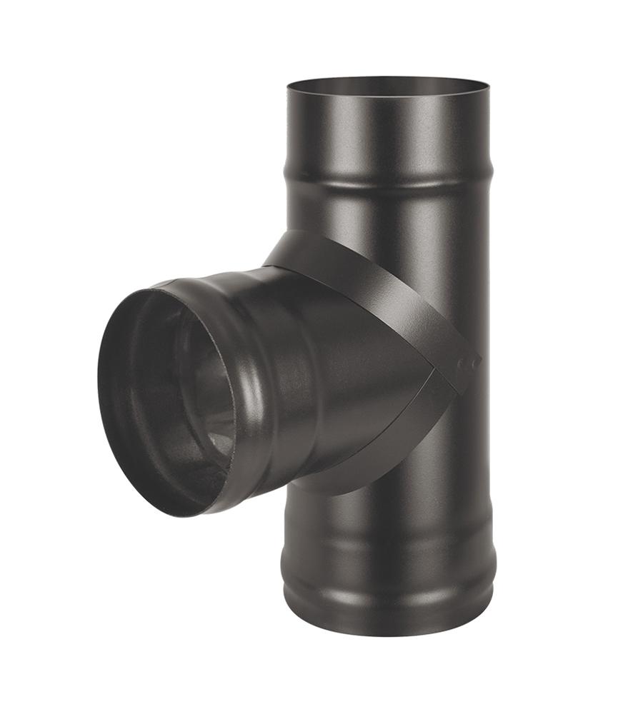 Тройник BLACK (AISI 430/0,8мм) 90*
