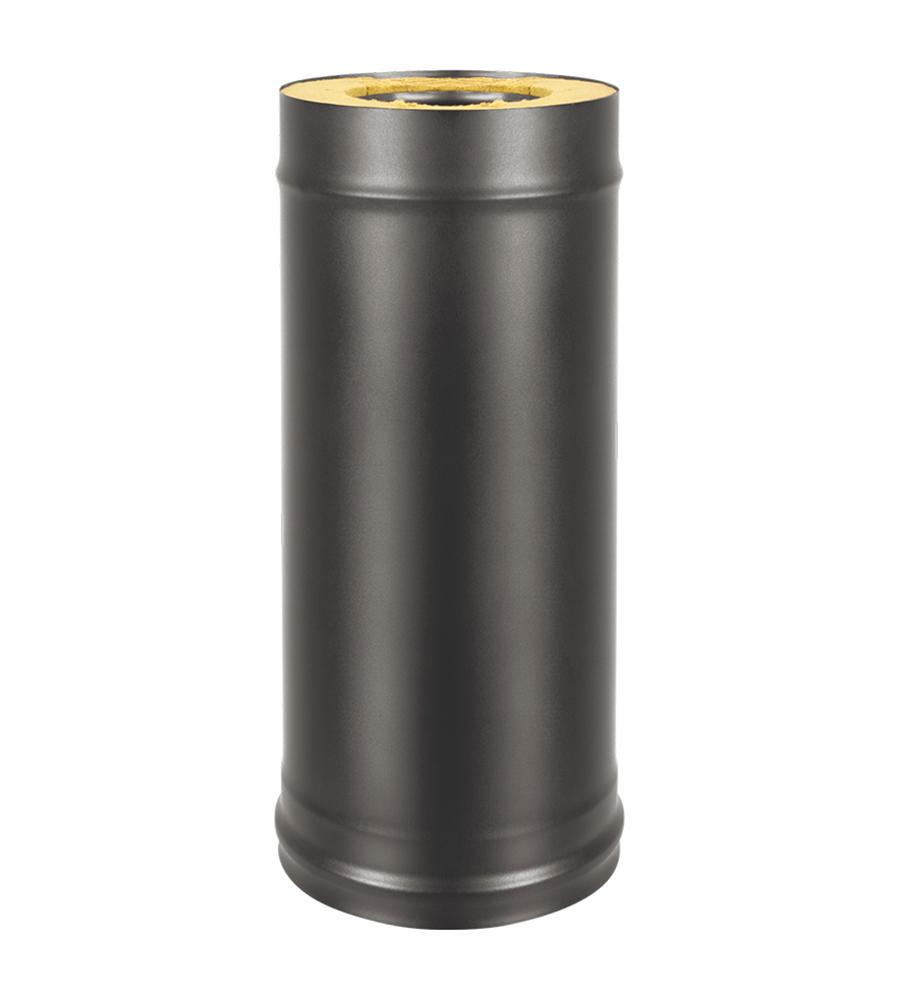 Сэндвич-труба BLACK (AISI 430/0,5мм + Оц.) д.115х200, L-0,5м