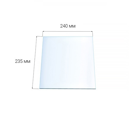 Стекло Везувий 210 (0,235х0,240)
