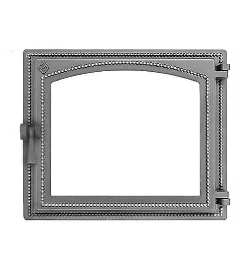 Дверка ВЕЗУВИЙ каминная 240 (не крашенная, без стекла)