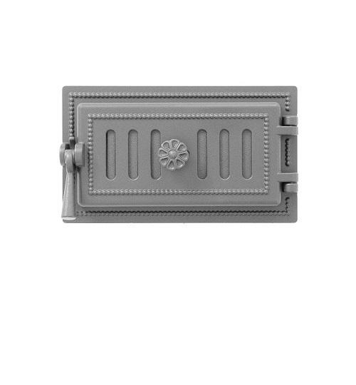Дверка ВЕЗУВИЙ поддувальная 236 (не крашенная)