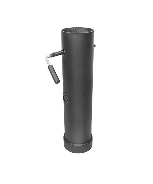 Шибер чугунный поворотный L-500 мм Ø115-120 мм