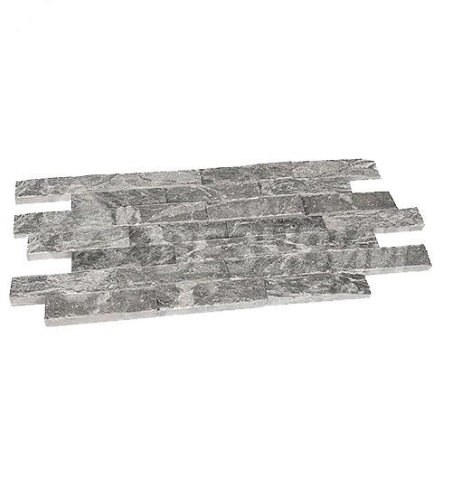 """Плитка облицовочная """"Рваный камень"""" талькохлорит 200*50*20 мм 1м²/100 шт."""