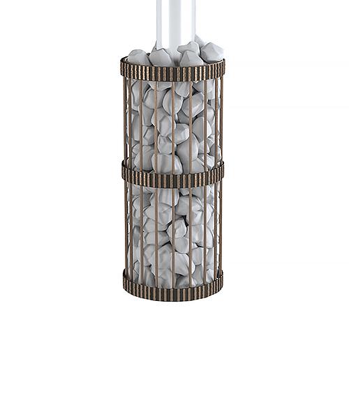 Сетка для камней Везувий Кованая