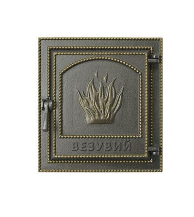 Дверка ВЕЗУВИЙ каминная 211 (Бронза)