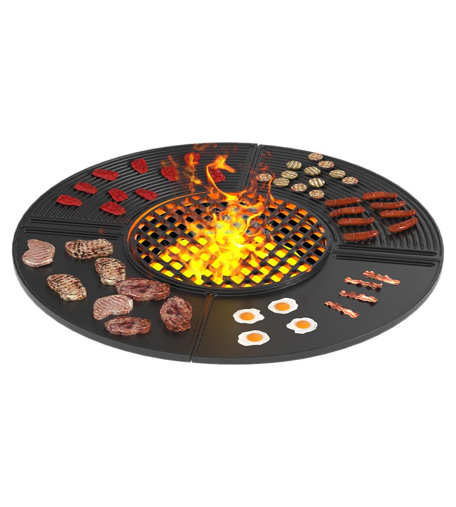 Чугунная плита Gurman Ø1000