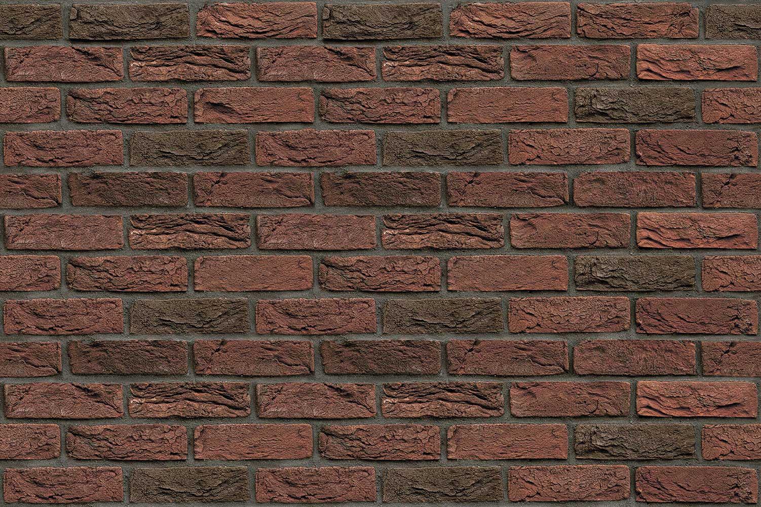 Плита ФАСПАН Красно-коричневый №1003 Горизонталь (1200х600х8мм)