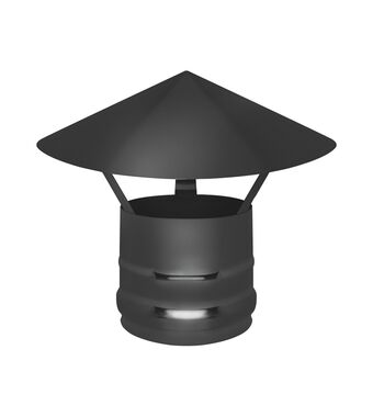 Зонт нерж. BLACK (AISI 430/0,5мм)