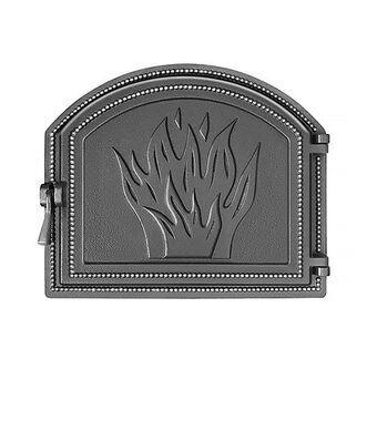 Дверка ВЕЗУВИЙ каминная 218 (Антрацит)