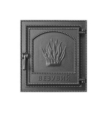 Дверка ВЕЗУВИЙ каминная 211 (Антрацит)