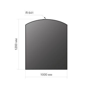 Лист напольный сталь 1200*1000*2 R641