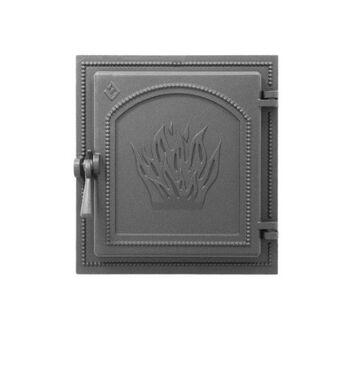 Дверка ВЕЗУВИЙ каминная 271 (Антрацит)