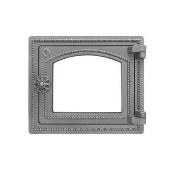Дверка ВЕЗУВИЙ печная ДТ-3С (не крашенная, без стекла)