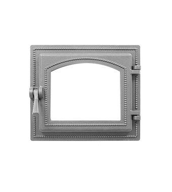 Дверка ВЕЗУВИЙ каминная 260 (не крашенная, без стекла)