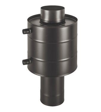 Теплообменник BLACK  6л на трубе д.115 штамп. (AISI 439)