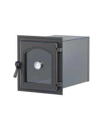 Духовой шкаф ВЕЗУВИЙ 270 с термометром (Антрацит)
